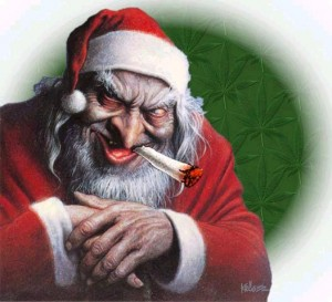 Santa Claus, per many well-meaning Christians' imaginations.