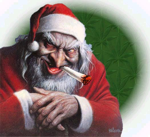 santa claus per some christians imaginations - Jesus Santa