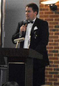 Stephen Burnett presenting CSA