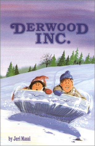 "Derwood, Inc.: a much better and funnier book before its publisher altered it to be more ""wholesome"" for readers."
