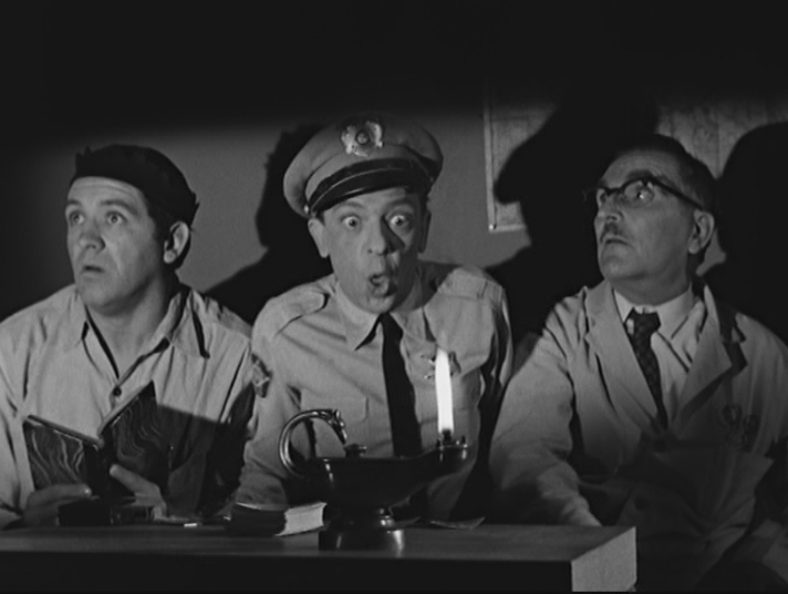 """The Andy Griffith Show"" for laughs threw its full support behind divination in ""Three Wishes for Opie."""