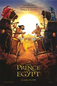 More chariot races and sibling rivalry — but God in The Prince of Egypt is much as He is in the original Story.