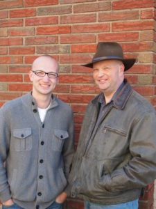 Aaron and Allen Reini, coauthors of Flight of the Angels.