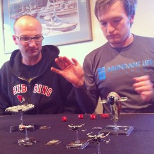 onraisingafamilyofnerds_playingxwingminiatures