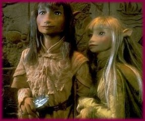 Jen and Kira from The Dark Crystal
