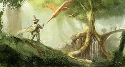 fantasy scene