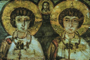 Icon of Sts. Sergius and Bacchus