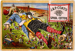 Gulliver_and_the_Liliputans,_trade_card_for_J._&_P._Coats_spool_cotton,_late_19th_c