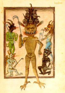 Bodleian-devil