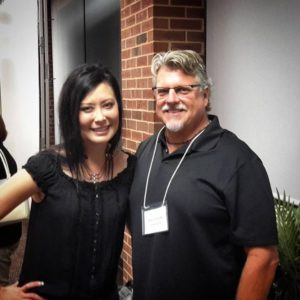 Authors Mike Duran and Tosca Lee at Realm Makers 2015