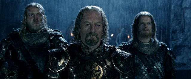 Theoden at Helm's Deep