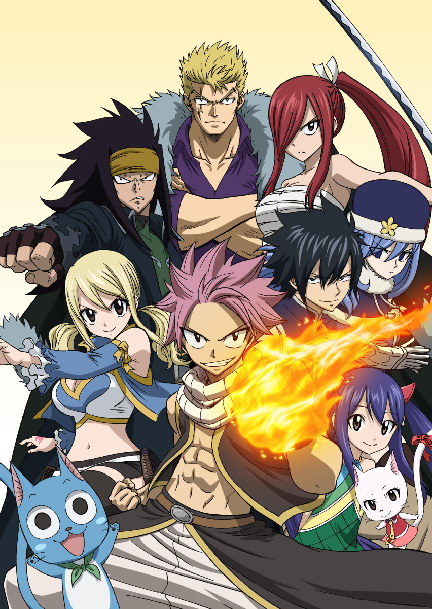 "Many of the cast of ""Fairy Tail"" episodes 1-48, plus two newcomers from the next arc."