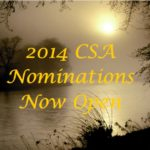 2014 CSA Nominations Are Now Open