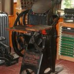 Roycroft printing press