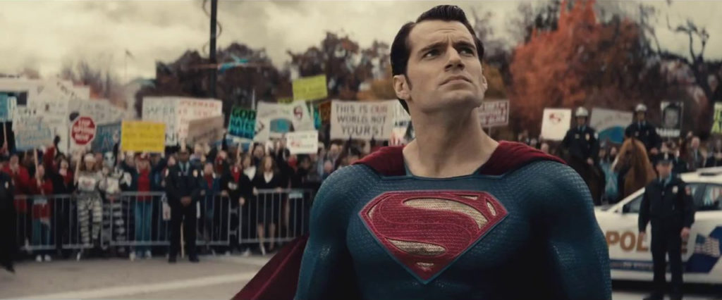 "Fact: The Westboro ""Baptist"" ""Church"" also exists in the DC film universe."