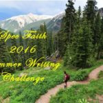 Spec Faith 2016 Summer Writing Challenge - Evaluation Phase