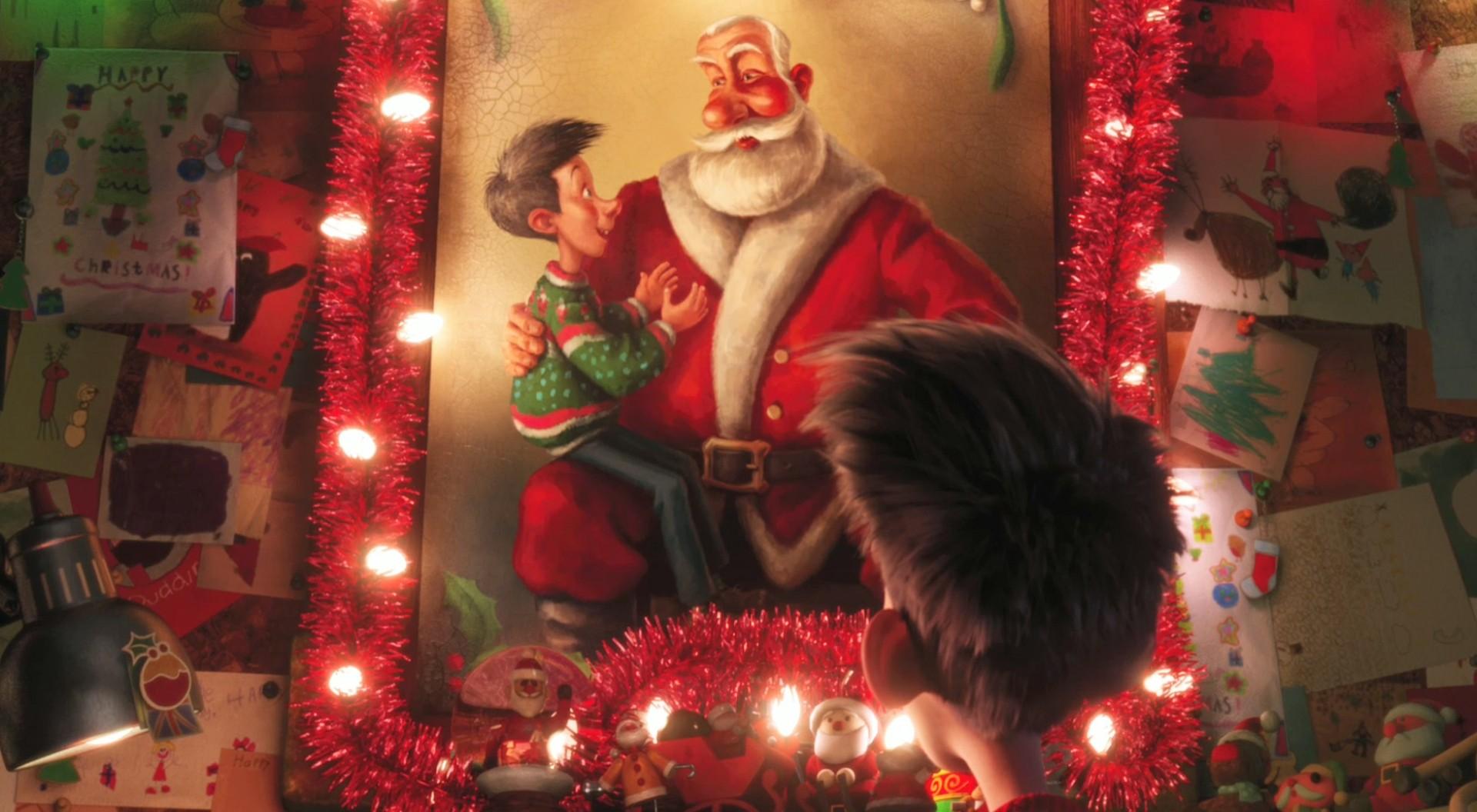 Arthur Christmas Santa.Speculative Faith Reviews Arthur Christmas Sci Fi Santa
