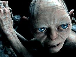 Gollum--a true villain.