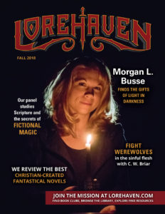 Lorehaven Magazine, fall 2018 issue